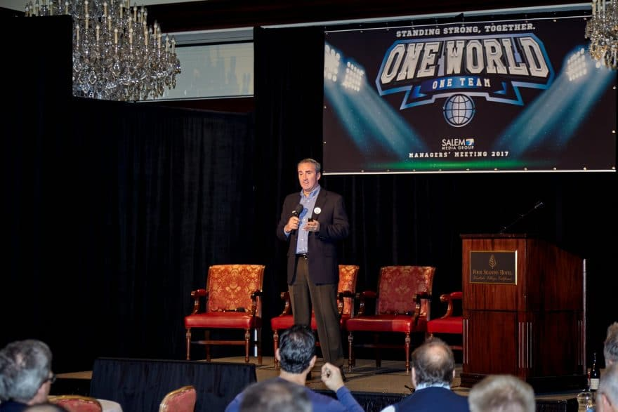 Christopher Henderson – Salem Media Group