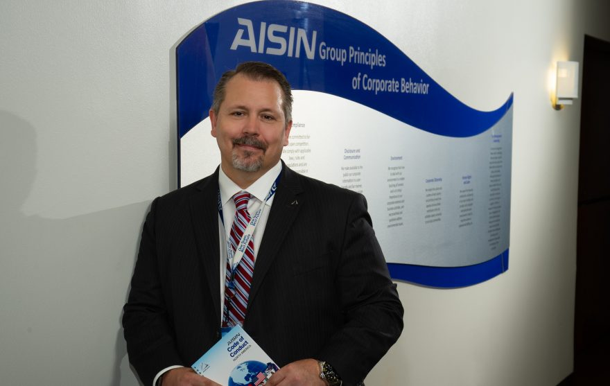 Dante Benedettini – Aisin Holdings of America, Inc. Vanguard Law Magazine
