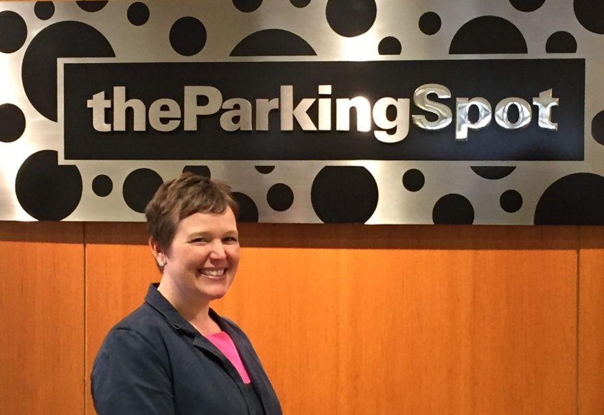Sarah Fisher – The Parking Spot