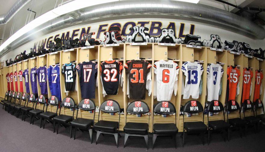 Casey Schwab - NFL Players Inc. Vanguard Law Magazine