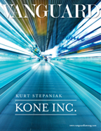 Kurt Stepaniak - KONE Inc. Vanguard Law Magazine