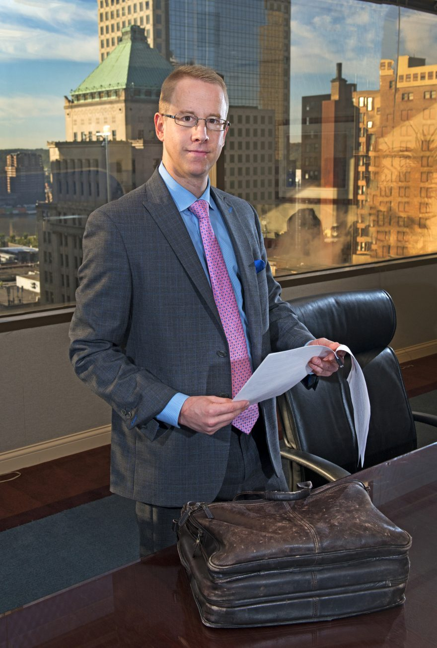 Zachary Peterson – Evans Landscaping Vanguard Law Magazine