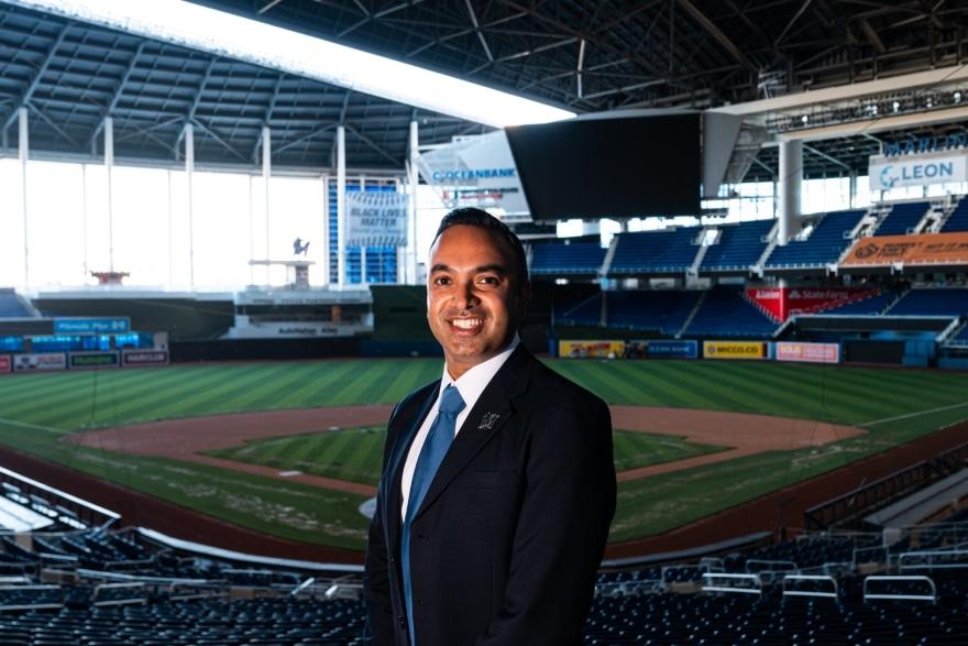 Ashwin Krishnan - Miami Marlins