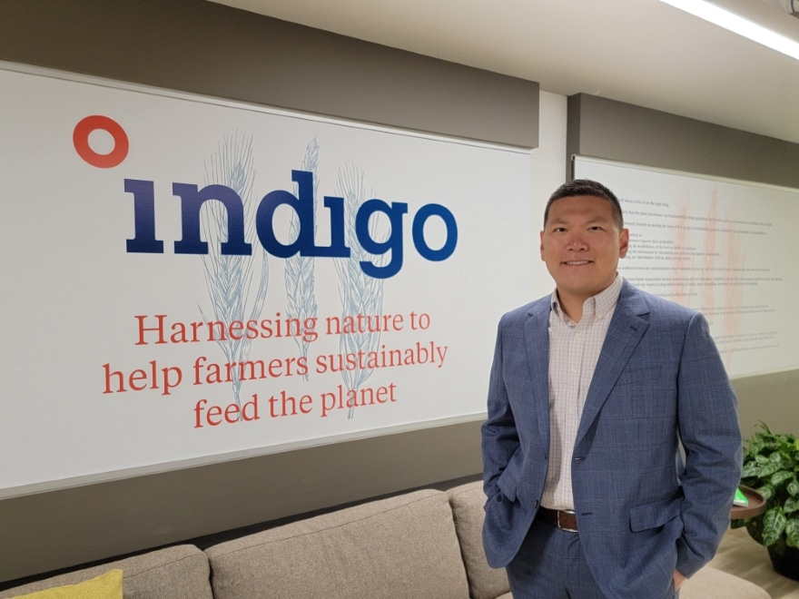 Anderson Chang | Indigo Agriculture